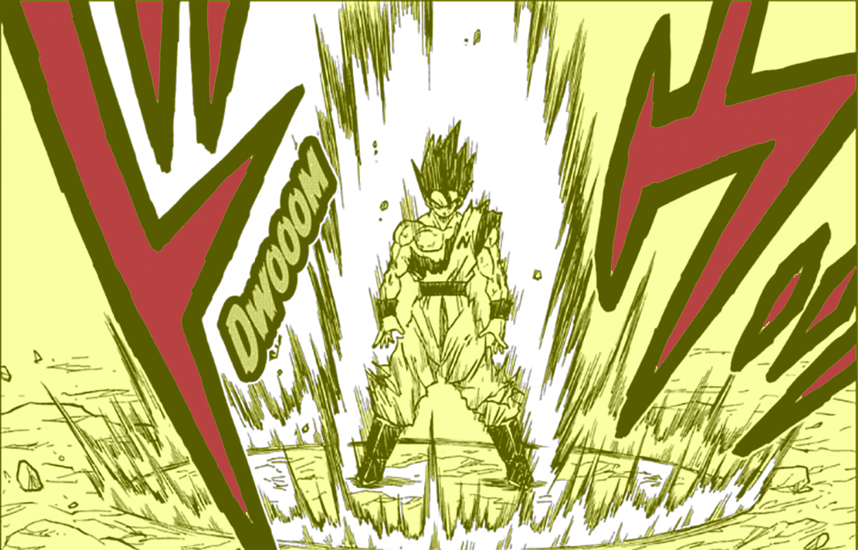 Dragon Ball Super capitulo 64 interior Goku Vs Merus