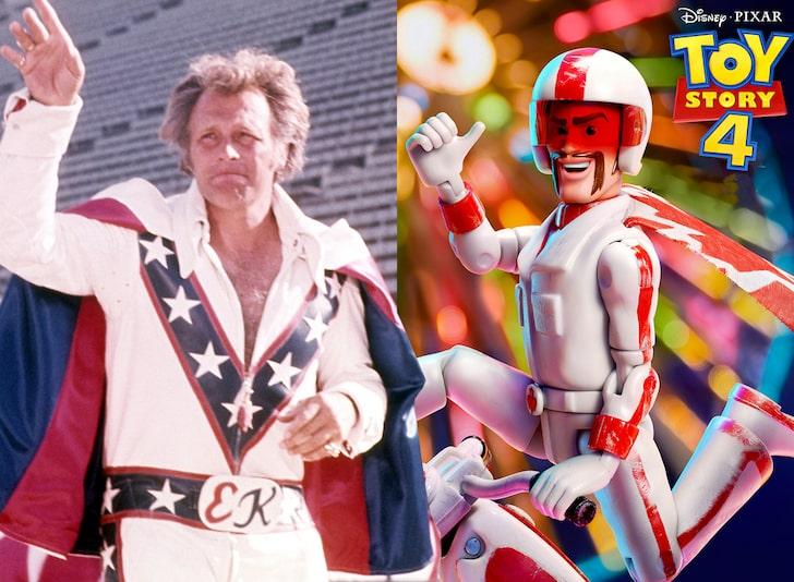 Evel Knievel y Duke Caboom