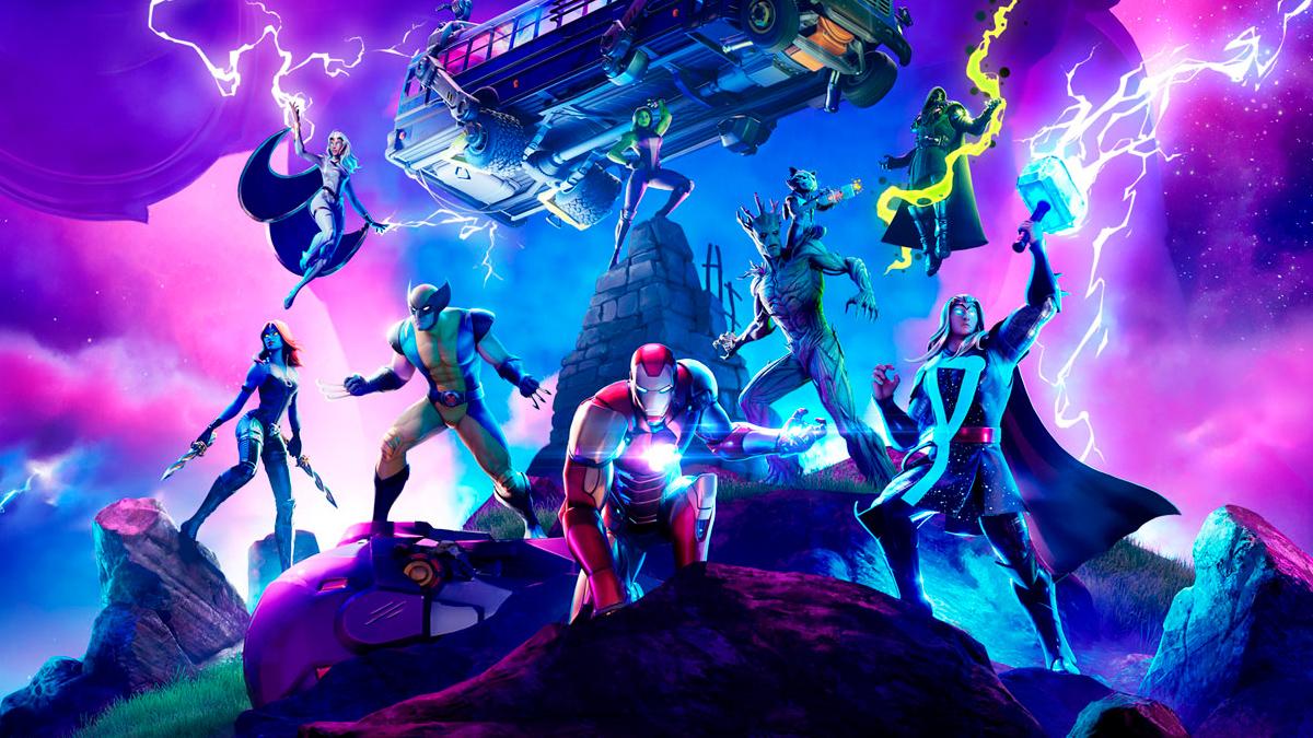 Fornite Marvel Capítulo 2 Temporada 4