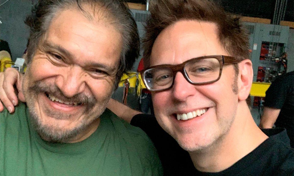 James Gunn y Joaquín Cosío