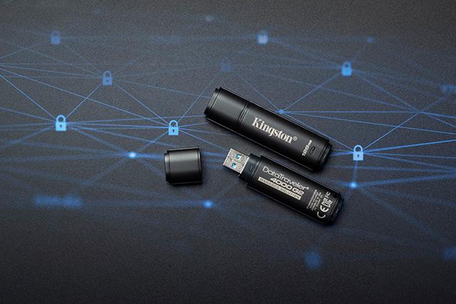 Kingston nuevas USB de 128 GB con encriptación