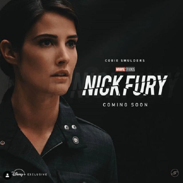 Logotipo Serie Nick Fury