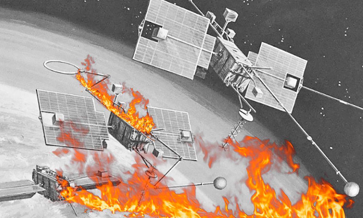 Satélite de la NASA explota y cae sobre Tahití