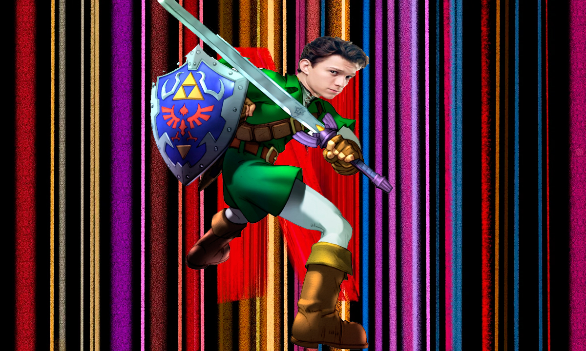 The Legend Of Zelda con Tom Holland