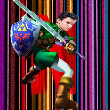 The Legend Of Zelda con Tom Holland