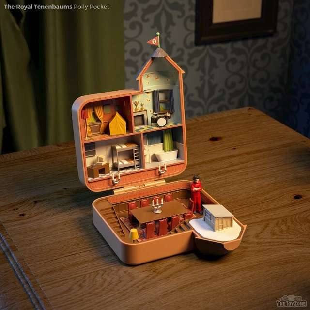 The Royal Tennebaums Polly Pocket