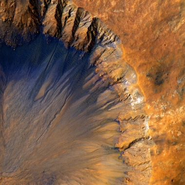 Vida en la Tierra Crater