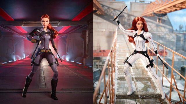Marvel y Mattel revelan las dos muñecas Barbie de Black Widow