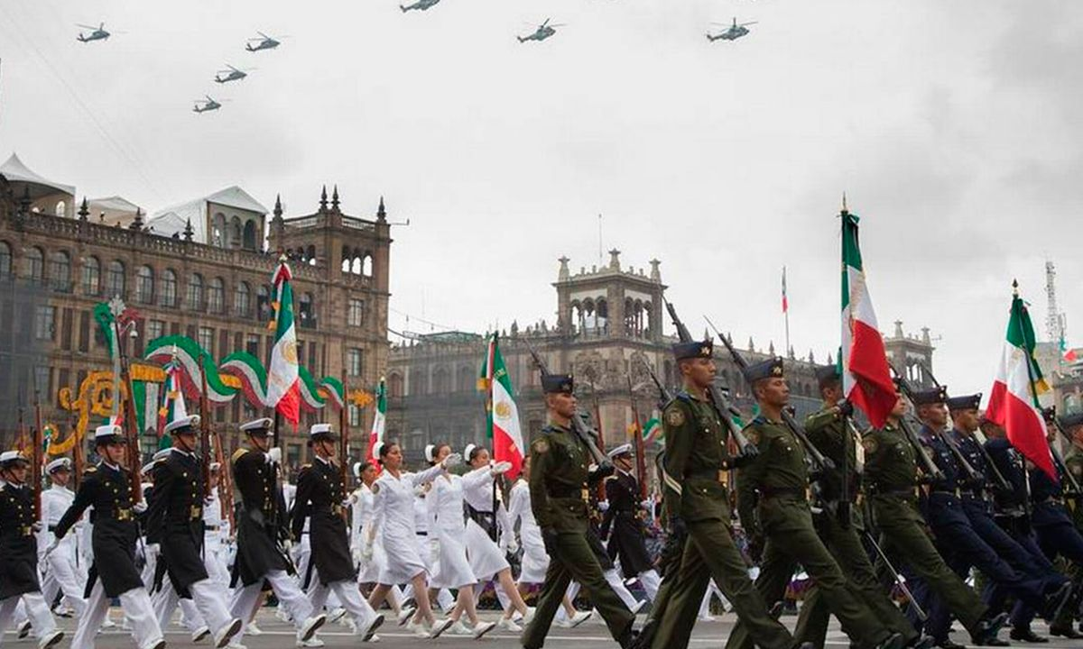 desfile militar del 16 de septiembre en México