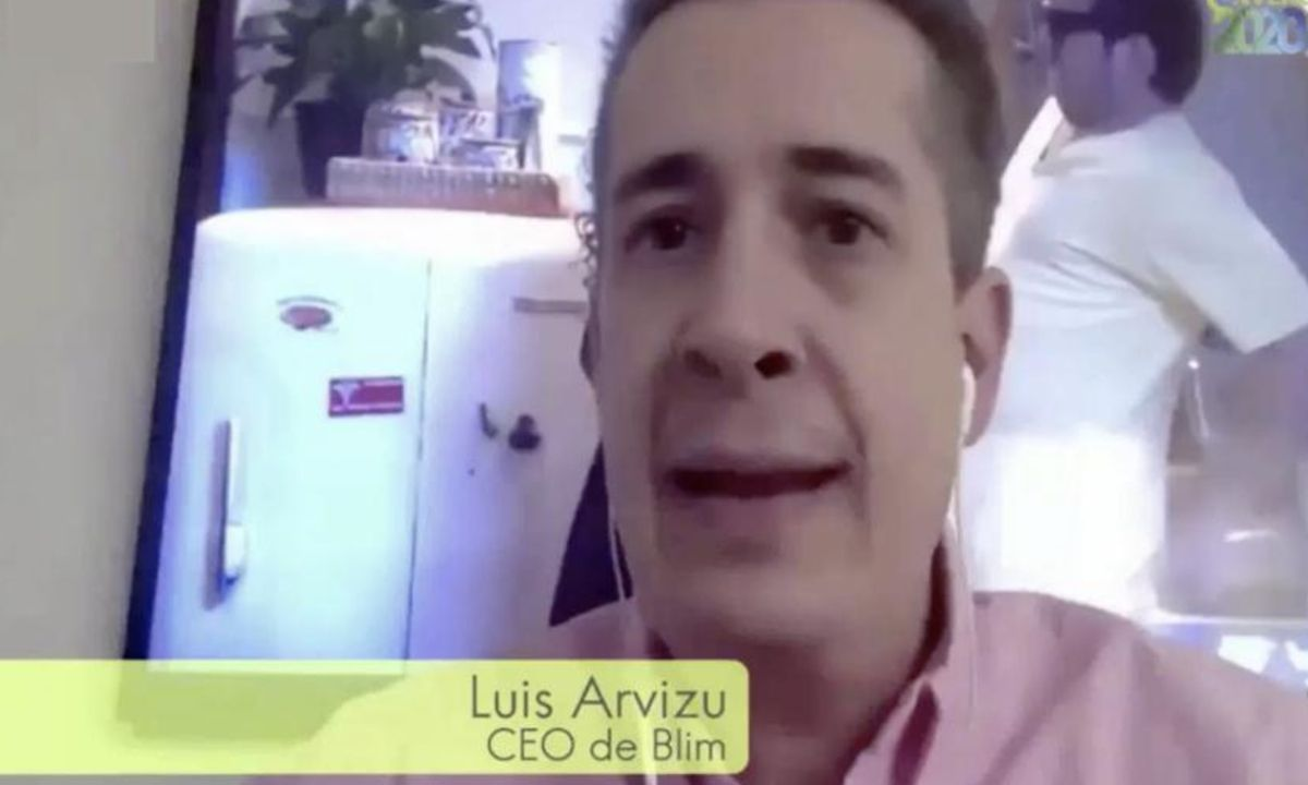 Luis Arvizu, CEO de Blim TV