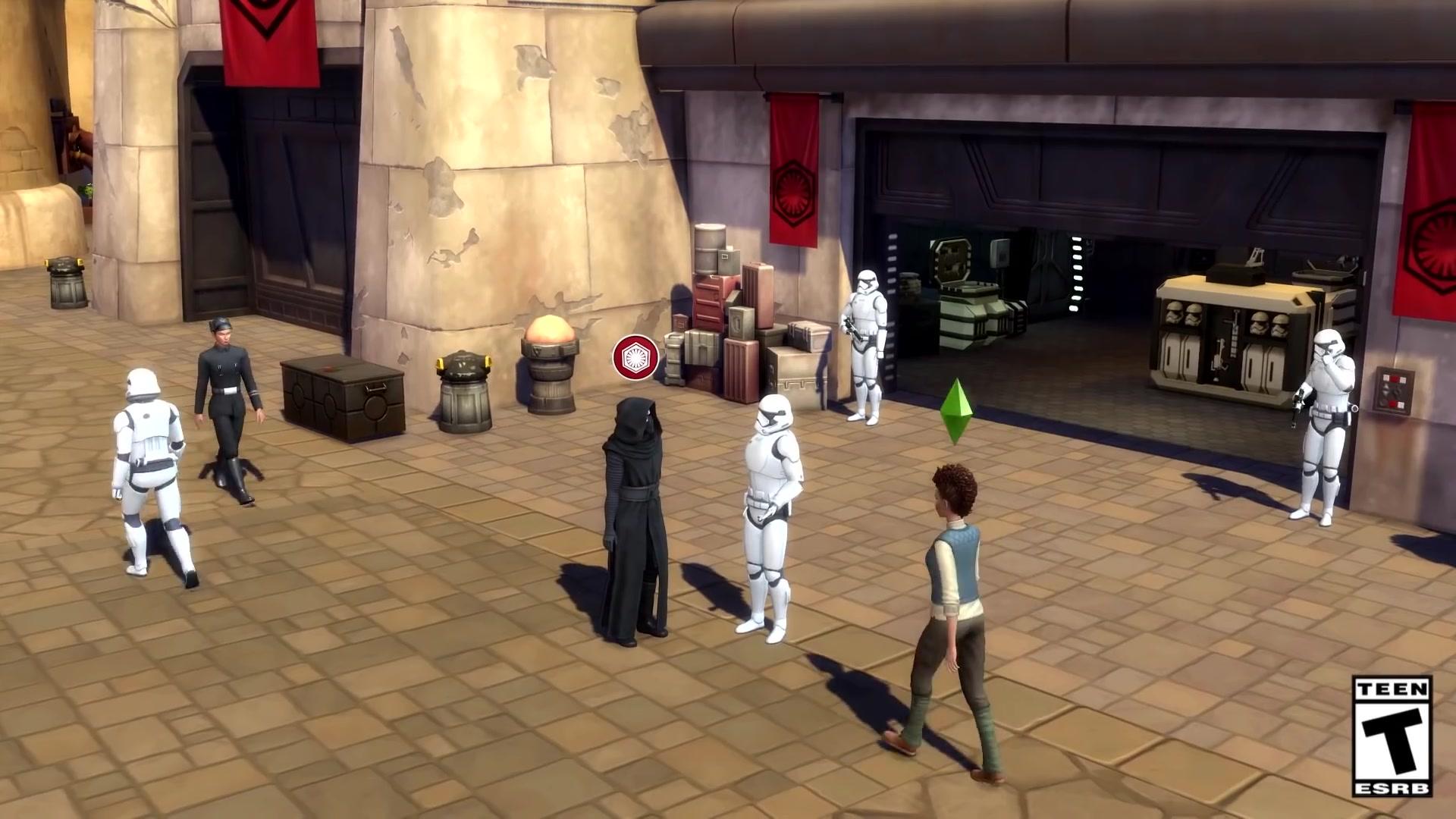 The Sims 4 incluirá un nuevo paquete de expansión de Star Wars
