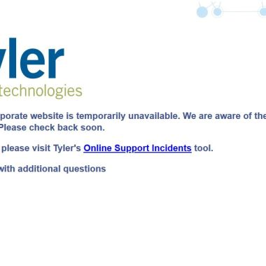 Tyler Technologies advierte a sus clientes de hackeo a sus sistemas