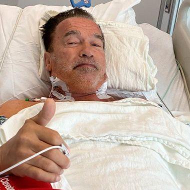 Arnold Schwarzenegger fue operado del corazón