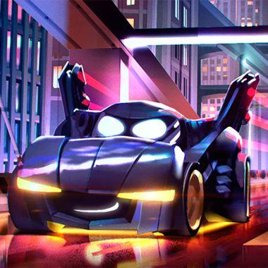 Imagen de Batwheels, la serie animada del Batimóvil de Batman