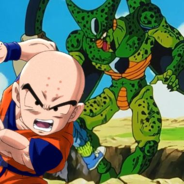Dragon Ball Cell Krillin