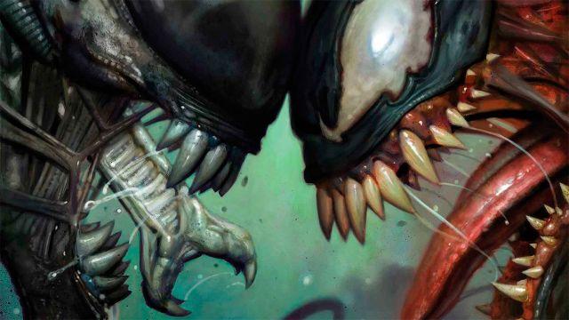 Portada Marvel vs Aliens
