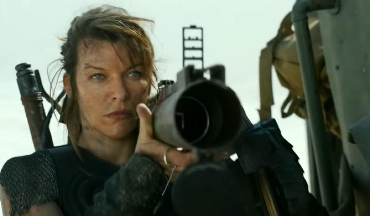 Imágenes de Milla Jovovich como protagonista de