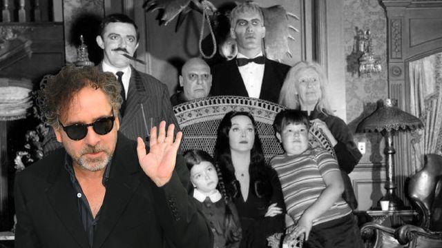 Los Locos Addams Tim Burton