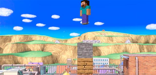 Super Smash Bros. Ultimate anuncia personajes de Minecraft