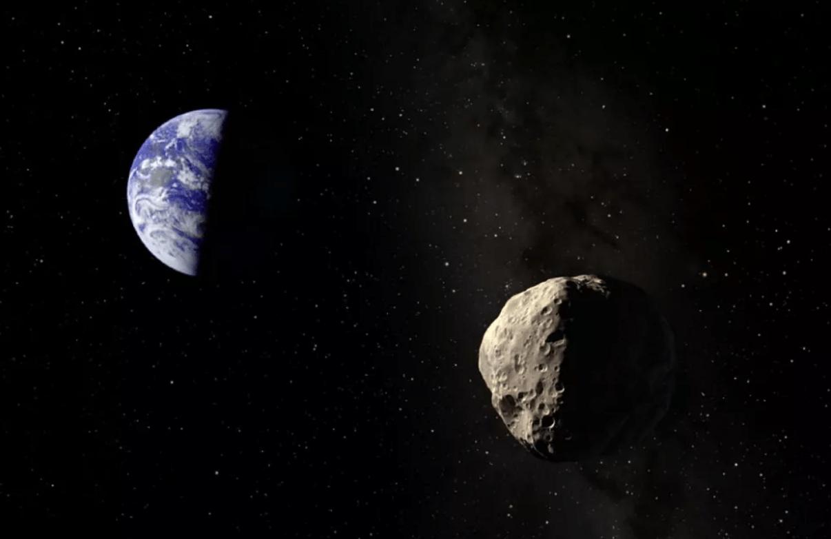 Asteroide Apophis podría chocar con la Tierra en 2068