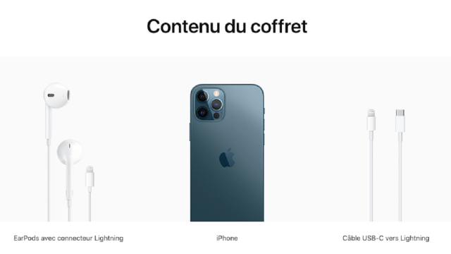 Audifonos iPhone 12 Página Apple Francia