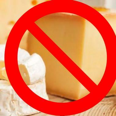 quesos y yougurts prohibidos en México