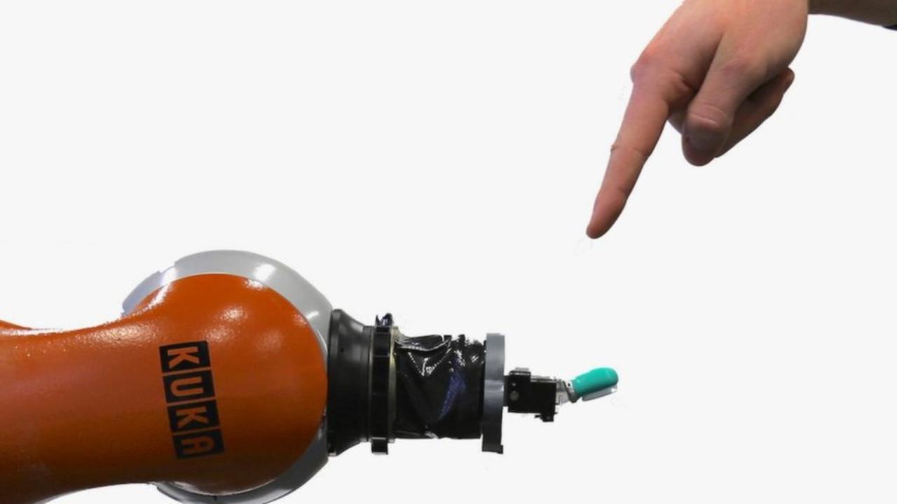 Crean robots capaces de reconocer el dolor y repararse a sí mismos