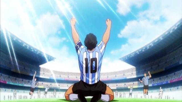 Diego Armando MAradona en el Anime