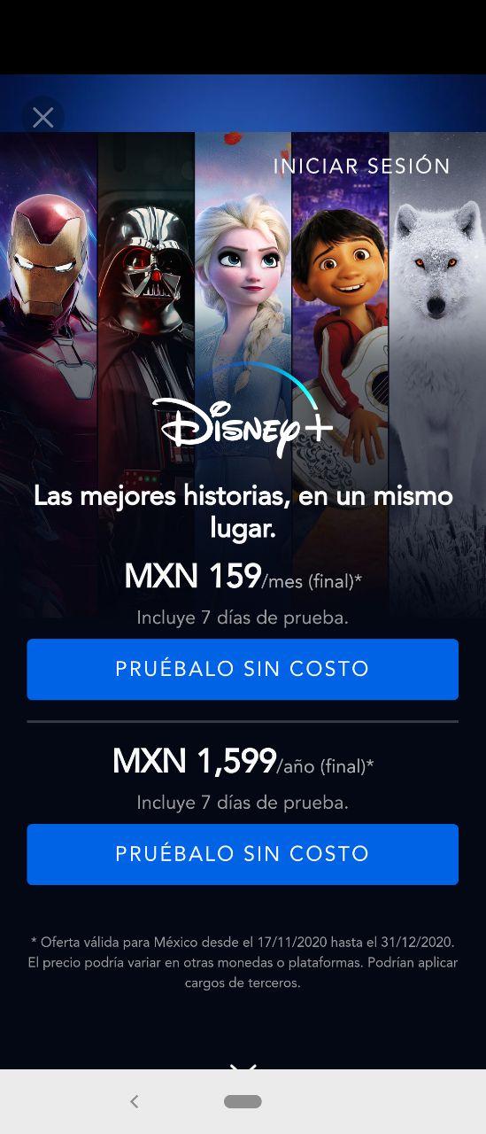 Disney Plus Costo