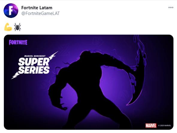 Venom tendrá su propia skin en Fortnite