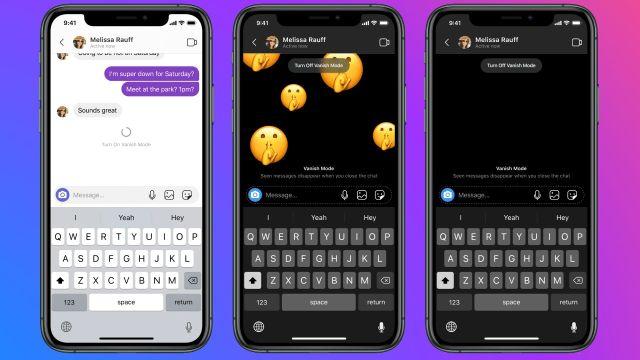 Instagram y Messenger nuevas funciones de chat