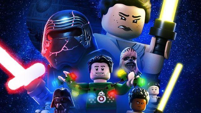 LEGO Star Wars navideño en Disney+