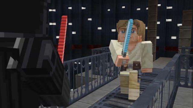 Minecraft y Star Wars lanzan colaboración