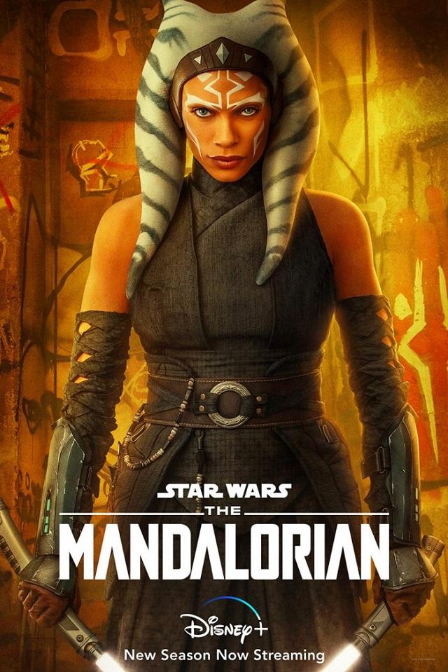 Póster de Ahsoka Tano en The Mandalorian