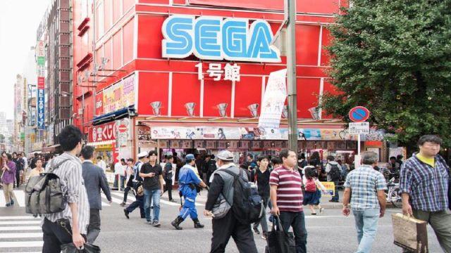 Sega Negocio Arcade