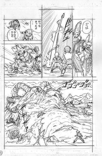 bocetos dragon ball super manga 4