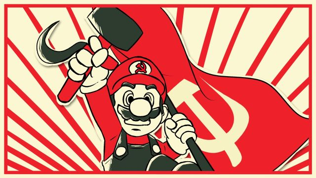 mario bros comunista