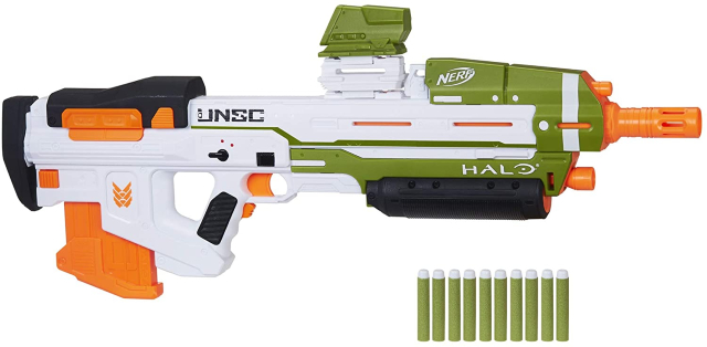 Lanzador Nerf Halo MA40