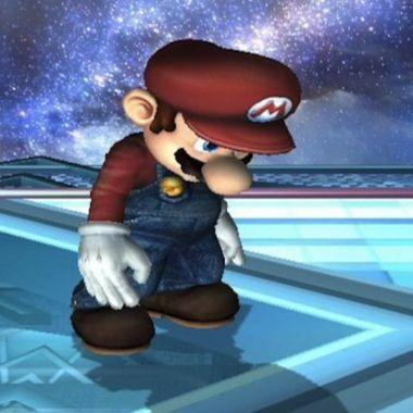 Super Mario Bros triste