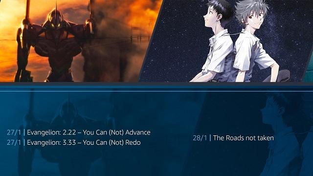 Rebuild of Evangelion en Amazon Prime Video
