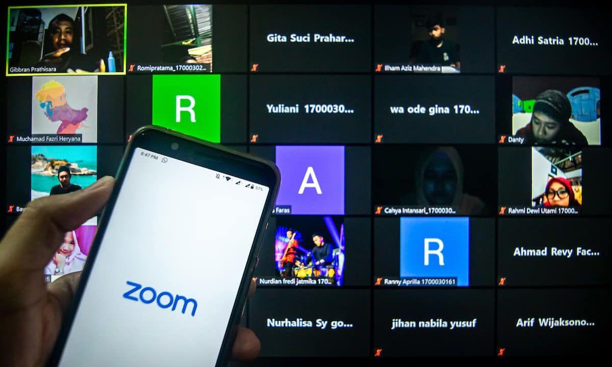Videollamada en Zoom
