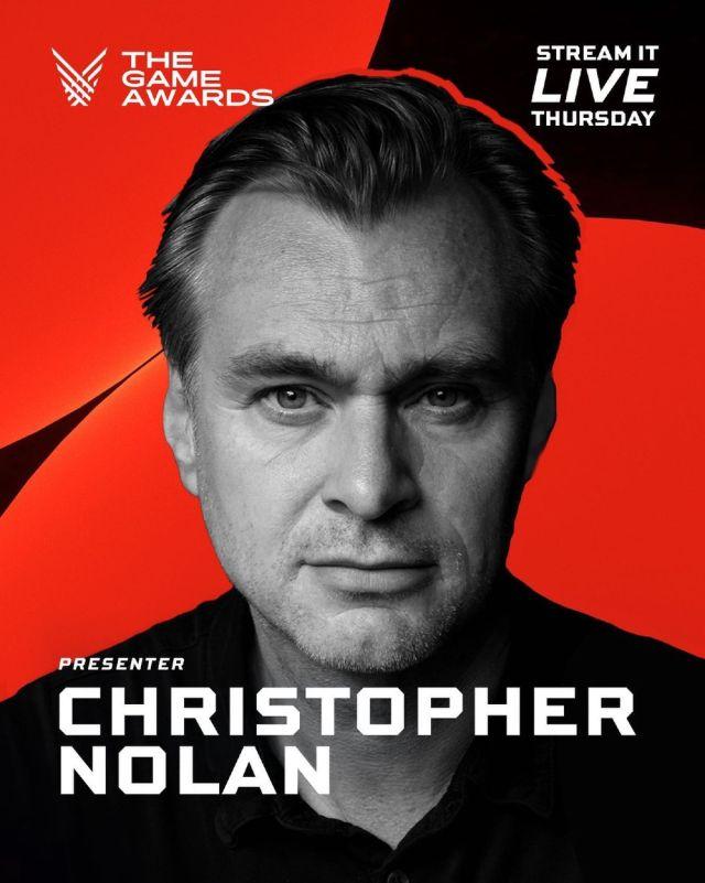 The Game Awards confirma a Christopher Nolan
