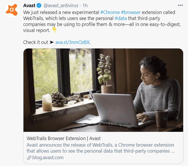 Avast detecta extensiones maliciosas en Chrome y Edge