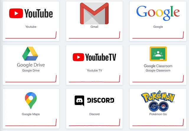 Servicios de Google caídos