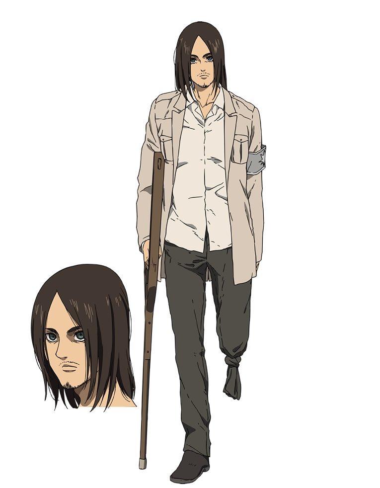 Eren Jaeger disfrazado de soldado eldiano
