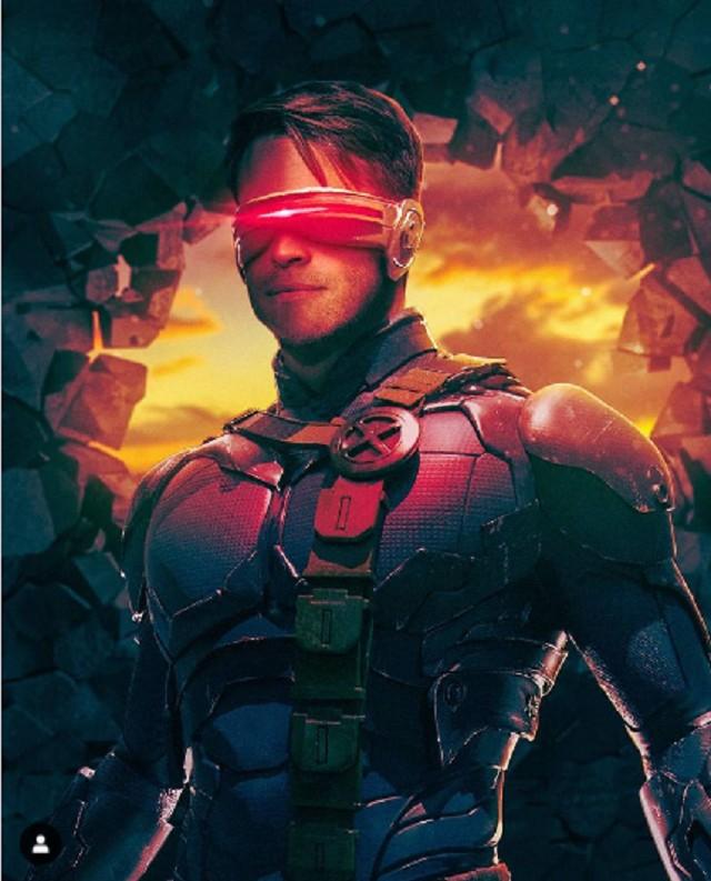 Chris Pine como Cyclops