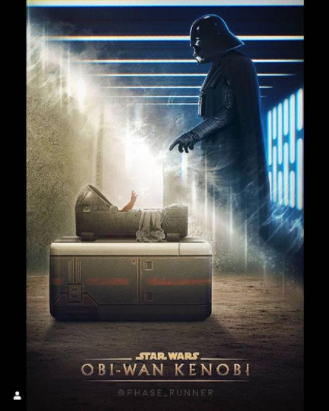 Fanart Darth Vader en la serie de Obi-Wan Kenobi