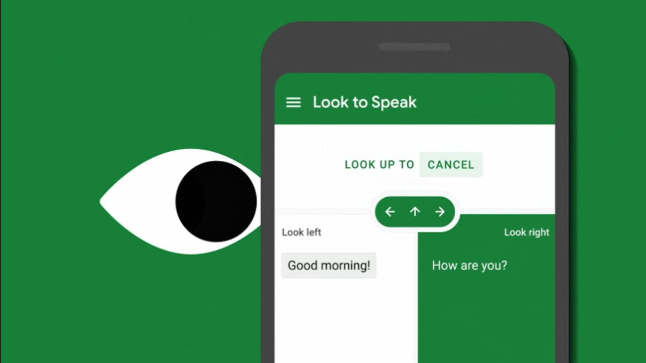 Google lanza la app Look to Speak