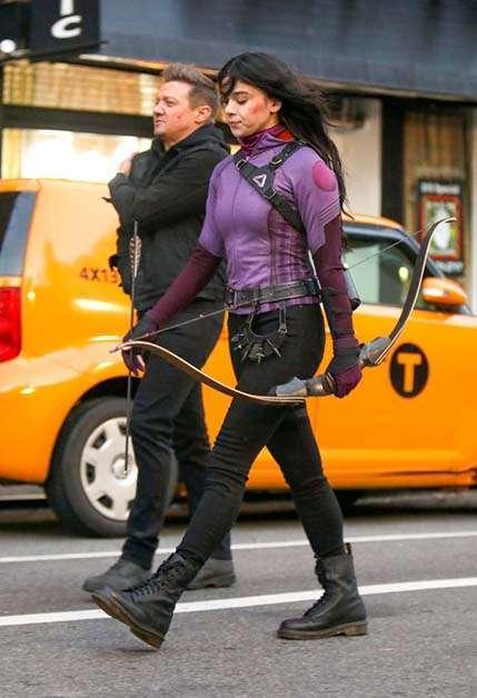 Kate Bishop en la serie Hawkeye