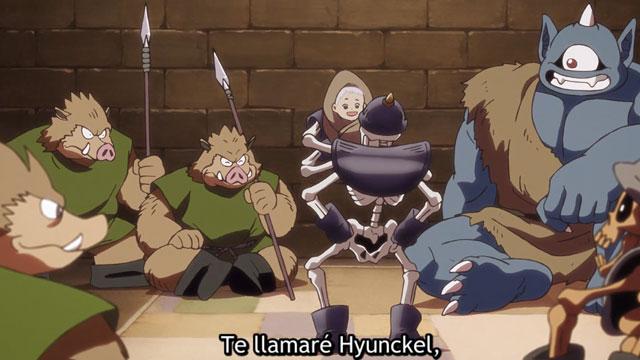 En el episodio 11 de Las Aventuras de Fly vemos la Hyunckel con su poderosa armadura y a nuestros héroes sometidos a su poder